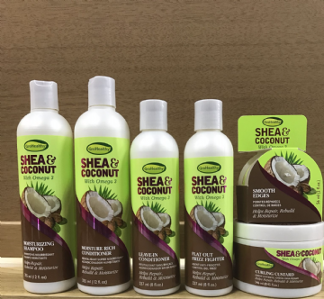 GROHEALTHY SHEA  AND COCONUT WITH OMEGA 3 HAIR PRODUCTS